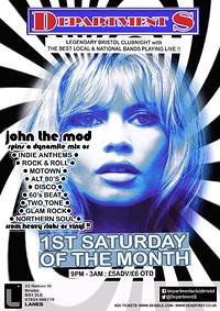 ✰ Department S Club Night  ✰John The Mod ✰ in Bristol