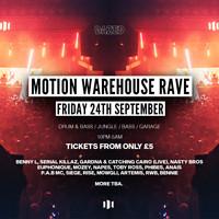 Dazed: Motion £5 Warehouse Rave in Bristol