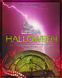 PTS x Illegal Data ϟ Halloween in Bristol