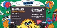 Propaganda - The Indie Rock Party in Bristol