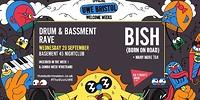 Basement DNB Rave ft Bish in Bristol