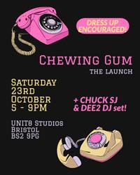 Chewing Gum Launch! ⚡️ in Bristol