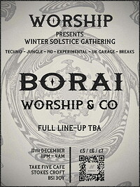 WORSHIP: Winter Solstice Gathering with Borai in Bristol