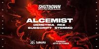 Shutdown: Alcemist in Bristol