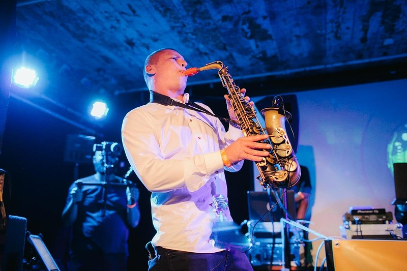 James Morton Band at Bristol Music Club