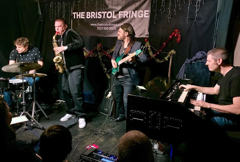 James Morton Band in Bristol 2021