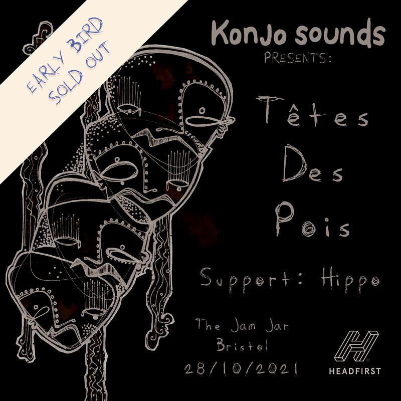 Konjo Sounds: Têtes Des Pois w/ Hippo at Jam Jar