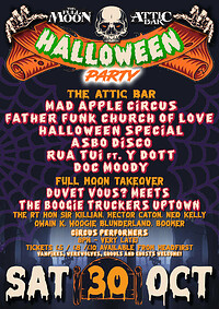 The Full Moon & Attic Bar Halloween Party in Bristol