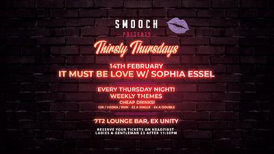 It must be love, love, love W/ Sophia Essel at 72T lounge Bar in Bristol