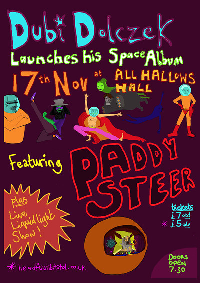 Dubi Dolczek Album Launch w/ Paddy Steer at All Hallows Hall in Bristol