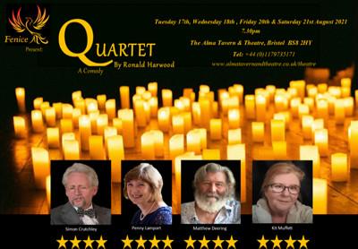 Quartet at Alma Tavern and Theatre in Bristol