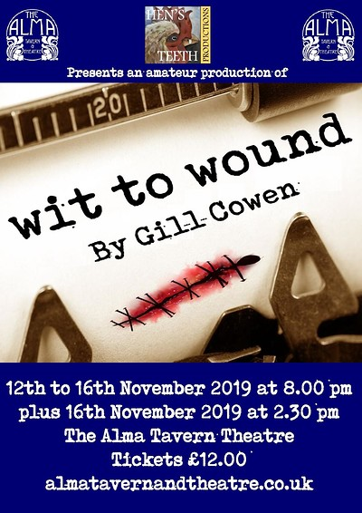 Wit to Wound at Alma Tavern and Theatre in Bristol