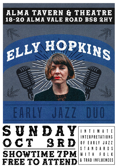 Alma Sunday Sessions: Elly Hopkins at Alma Tavern & Theatre in Bristol