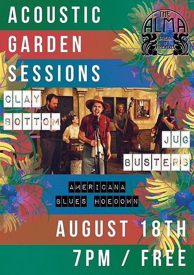 Sunday Sessions: Clay Bottom Jug Busters at Alma Tavern & Theatre in Bristol