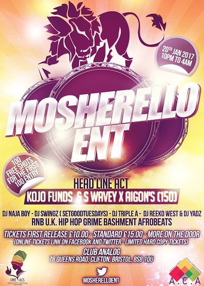 Mosherelloent at Analog in Bristol