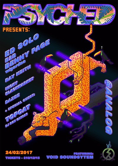 Psyched Jungle Special II Ed Solo b2b Benny Page + at Analog in Bristol