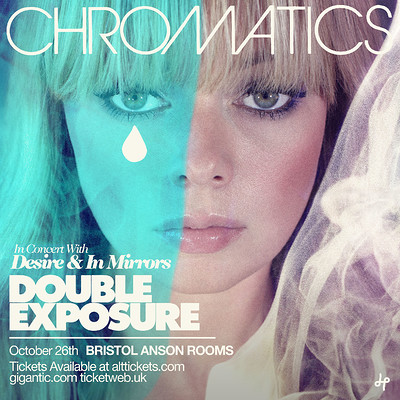 Chromatics at Anson Rooms in Bristol