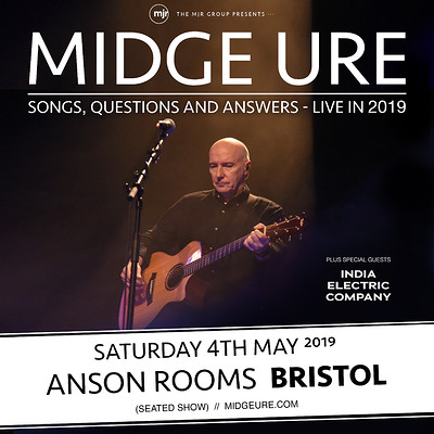 Midge Ure at Anson Rooms in Bristol