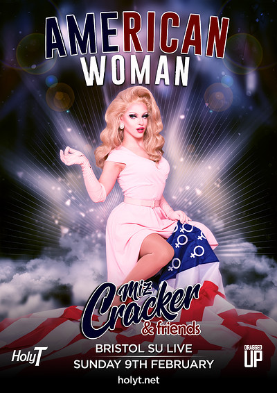 Miz Cracker's American Woman at Anson Rooms in Bristol