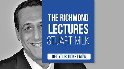 Richmond Lectures: Stuart Milk at Anson Rooms in Bristol