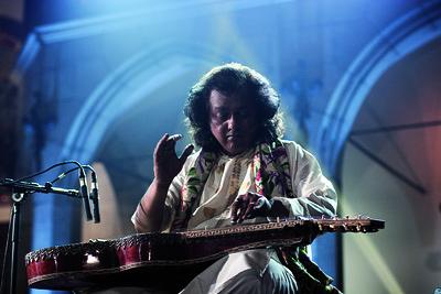 Debashish Bhattacharya Trio at Arnolfini in Bristol