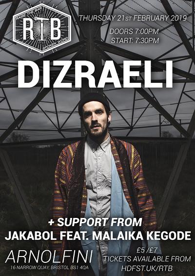 Raise the Bar (Feat. DIZRAELI + more) at Arnolfini in Bristol