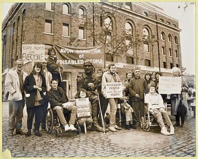 UNTOLD STORIES: DISABILITY ACTIVISM IN BRISTOL at Arnolfini in Bristol