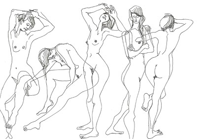 WE ARE FAMILY: Life Drawing (On Zoom) at Arnolfini in Bristol