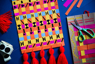 We Are Family: Paper Weaving at Arnolfini in Bristol