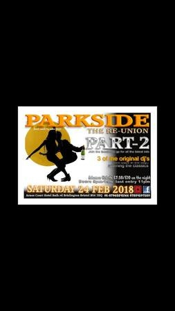 Parkside ReUnion Part-2 at Arnos Manor Hotel, Bath Road, Brislington, Bristol BS4 3HQ, UK in Bristol