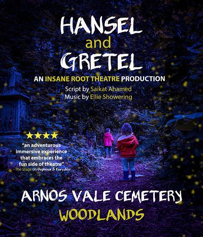 Hansel and Gretel at Arnos Vale Cemetery in Bristol