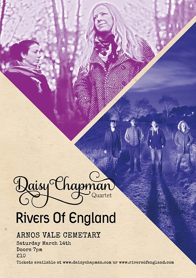 Daisy Chapman + Rivers Of England at Arnos Vale Chapel in Bristol