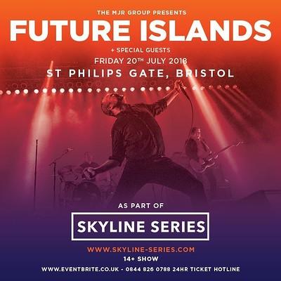 Future Islands at Ashton Gate Stadium, Bristol in Bristol
