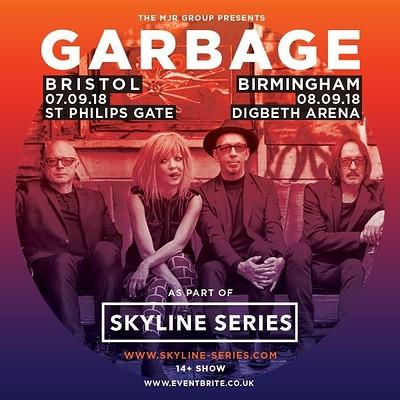 Garbage (Skyline Series) at Ashton Gate Stadium, Bristol in Bristol