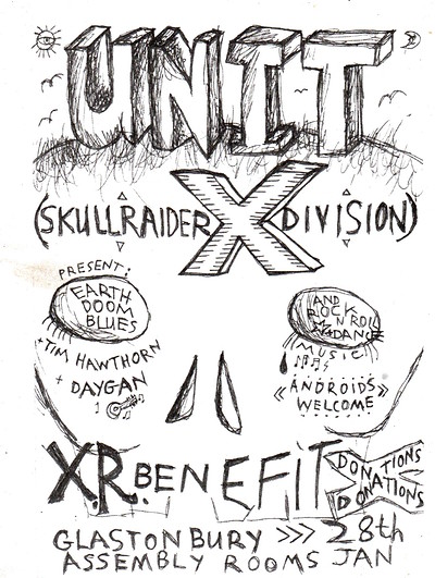 BENEFIT Glastonbury 28.1.2020 - UNIT X + support at Assembly Rooms Glastonbury in Bristol
