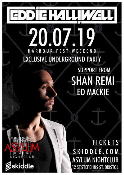 Eddie Halliwell @ Asylum at Asylum Nightclub in Bristol