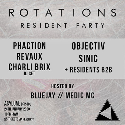 Rotations: Resident Party at Asylum in Bristol