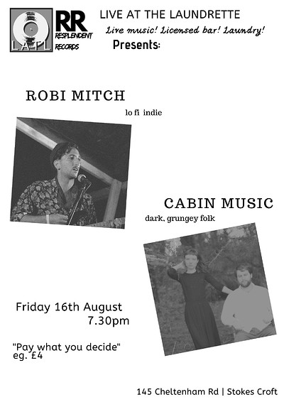 Robi Mitch + Cabin Music POSTPONED at At The Well in Bristol