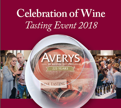 Celebration of Wine - Session Two at Averys Wine Cellars in Bristol