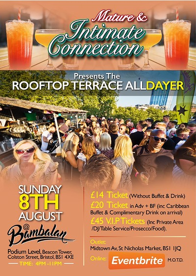 The Rooftop Terrace All-Dayer at Bambalan in Bristol
