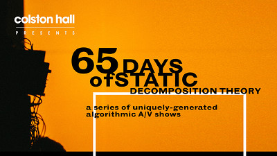 65daysofstatic: Decomposition Theory at Band Film Studio in Bristol