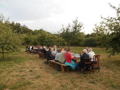 Orchard Banquet at Barley Wood Walled Garden at Barleywood Orchard, Walled Garden, Wrington BS40 5SA in Bristol