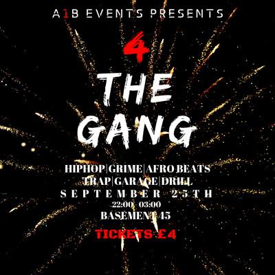 4 The Gang (4TG) at Basement 45 in Bristol