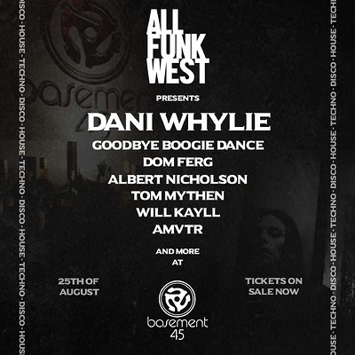All Funk West  at Basement 45 in Bristol