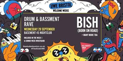 Basement DNB Rave ft Bish at Basement 45 in Bristol