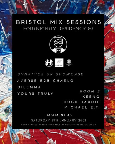 Bristol Mix Sessions: Fortnightly Residency 03 at Basement 45 in Bristol