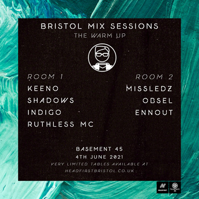 Bristol Mix Sessions - The Warm Up at Basement 45 in Bristol