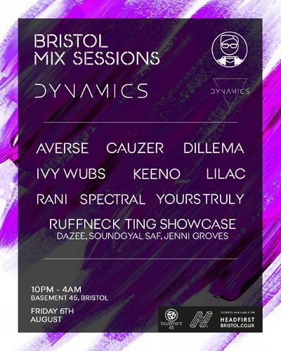 Bristol Mix Sessions x Dynamics at Basement 45 in Bristol