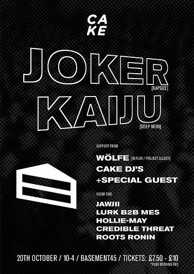 basement 45. cake 001 joker kaiju more at basement 45 in bristol s