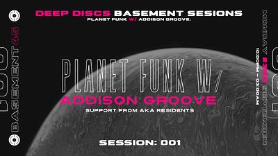 Deep Discs Basement Sessions 001.  at Basement 45 in Bristol